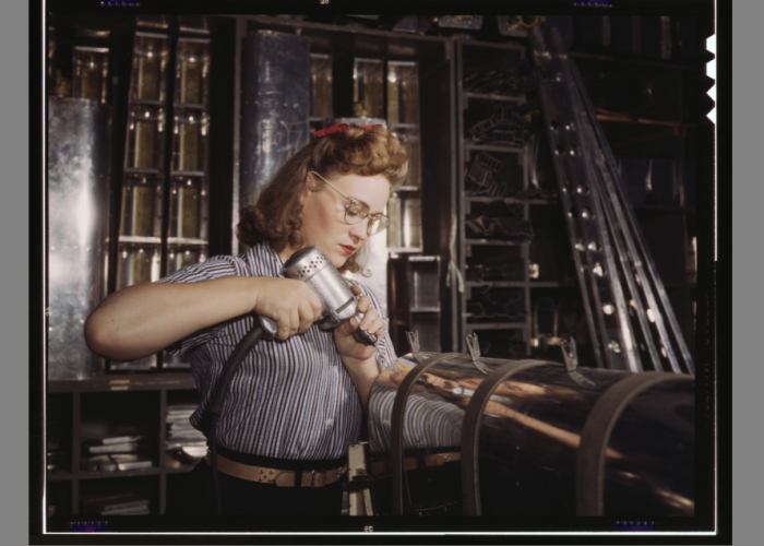 Operating a hand drill